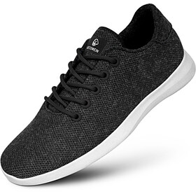 Giesswein Merino Wool Knit Runners Men anthracite